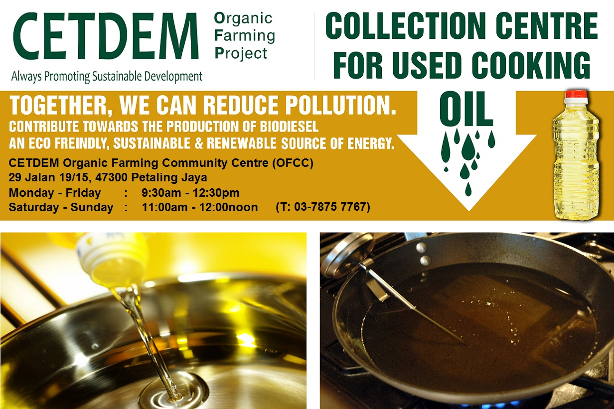 Day 8 cooking oil recycle centres at selangor - Many times can reuse frying oil ...